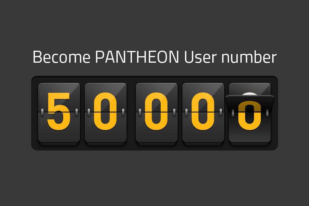 Numërojmë për përdoruesin e 50,000 të PANTHEON