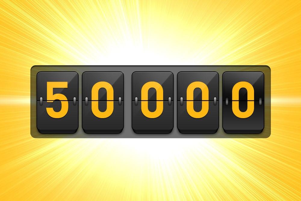 Më Shumë se 50,000 Përdorues Tani Vendosin Besimin e tyre në Ne!